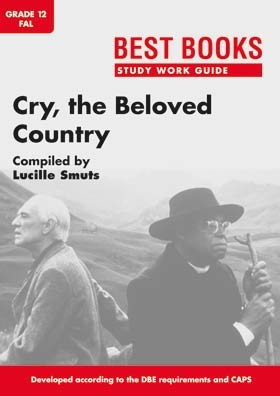 cry the beloved students This unit is based upon study of alan paton's novel, cry, the beloved country, and includes a writing component in which students create an original bill.